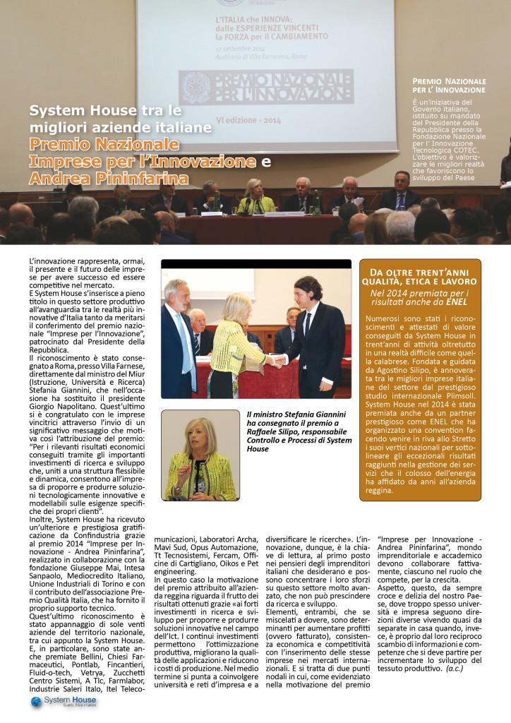 SH11 Premio Impresa innovazione
